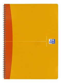 Cahier spirales Oxford Office A4 21 x 29,7 cm - petit carreaux 100 pages - couleurs assorties