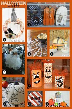 Halloween Craft Ideas Round Up