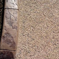 Exposed aggregate traditional and exposed aggregate for Acid wash concrete driveway
