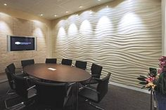 Современные обои для стен флизелиновые Conference Room, Table, Furniture, Wallpapers, Home Decor, Gypsum, Decoration Home, Room Decor, Wall Papers