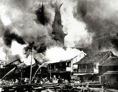 1900 Chinatown Fire, Honolulu Hawaii