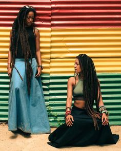 - Asha (@ashawadada) @houseofwadada : @rayacharles : @wadadamovement…twins. Sisters. Family. Locs. Loc'd hair. Long locs. Dreads. Dreadlocs. Dreadlocks. Beautiful hair. Natural hair.
