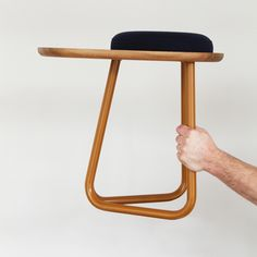I dream, create and admire - Stool 01, by Daphna Laurens with Wittmann Stool...