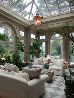 The French Tangerine: ~ inspired home: favorite house part 1 #conservatorygreenhouse