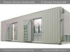 Subestaciones Modulares Prefabricadas Venezuela. Shelters para Celdas de Media Tension. Power House Venezuela. E-House Venezuela. Electrical House Venezuela. MV/LV Prefabricated Substation Venezuela. Containerized Prefabricated Electrical Shelters Venezuela.