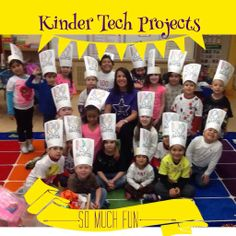 TOUCH this image: Kinder Tech Projects by Tami Greenwood
