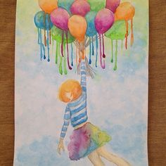 Flying Colors. |Canson watercolor pad|200gsm|A4|