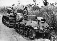 Japanese tank, Burma
