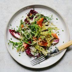 Chicory Salad with Smoked Salmon Recipe