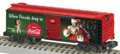 Lionel Trains American Flyer Coca-Cola Boxcar ***S Gauge***