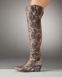 Old Gringo Python Boots