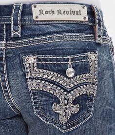 Rock Revival Kira Easy Straight Stretch Jean - Women's Jeans   Buckle
