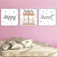 Παιδικοί πίνακες σε καμβά Καρουζέλ Toddler Bed, Frame, Sweet, Home Decor, Child Bed, Picture Frame, Candy, Decoration Home, Room Decor