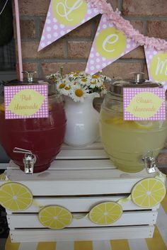 Buckets of Grace: {Real Party} Neighborhood Ice Cream and Lemonade Social
