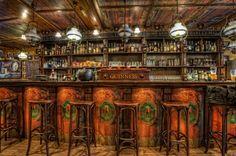 Old Irish bar.