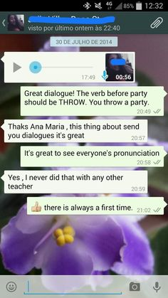 The blog offers good ideas, examples and help me to learn how WhatsApp has been used as to promote speaking skills and students' interaction in classroom.