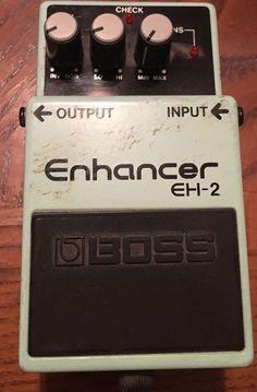 Boss Enhancer EH-2 Equalizer Guitar Effect Pedal