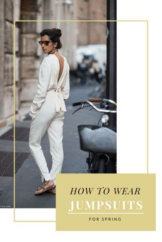 How to wear jumpsuits for Spring