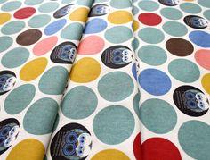 birch fabrics Charley Harper Nurture Canvas Family Owlbum