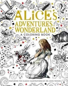 <div>This beautiful coloring book, based on the original drawings by John Tenniel for<i>Alice's Adventures in Wonderland</i>, invites you to draw and bring color to Wonderland as you read along with some of your favorite characters!<br><br>The pairing ...