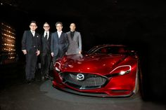 2015 Mazda RX-VISION concept. World premiere of this new sports car concept model took place at the 2015 Tokyo Motor Show.