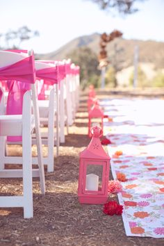 colorful aisle runner