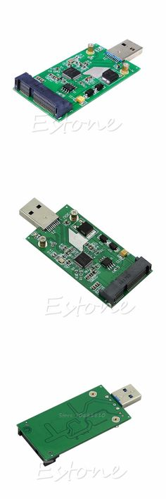 [Visit to Buy] USB 3.0 to Mini PCIE mSATA SSD mSATA To USB 3.0 SSD Don't Need USB Cable NEW -R179 Drop Shipping #Advertisement