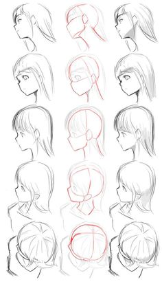 Drawing perspective face #Drawingtips