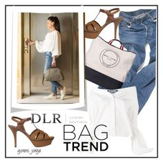 """""""Bag & Shoes - DLR"""" by goreti ❤ liked on Polyvore featuring Sonia Rykiel, Yves Saint Laurent, Jacquemus, summer2017 and Spring2017"""