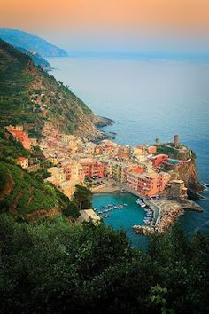 This is the one I was thinking of....cinque terre #italy