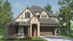 Linden III - Plan 3013 Vista exterior-Casa Familiar  Priced from $371,990  2,989 square feet 4 Habi., 3 baños y 2 plantas (pisos). Para más información contáctanos al +1 (832)-630-5251.