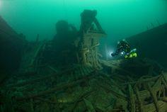 """Shipwreck """"Minneapolis"""" Lake Michigan"""