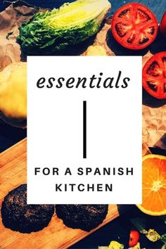 Make sure to stock up with some traditional Spanish ingredients for the perfect Barcelona inspired kitchen!