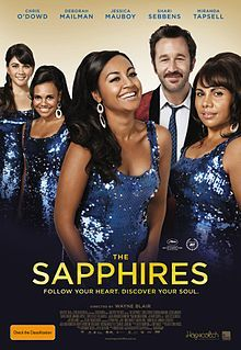 The Sapphires (film) - I loved this film. Chris O'Dowd is brilliant, as are all the girls. An Australian film we can be proud of! Oh the talent! :D