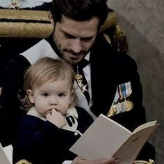 Prince Gabriel's Christening. Prince Carl Philip and Prince Alexander