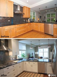 Good Kitchen Update Oak To White Kitchen Cabinets And Updated Hickory  Hardware With Studio Collection Pulls With Update Kitchen Cabinet Hardware
