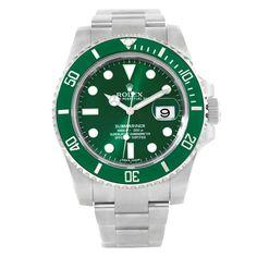 17684 Rolex Submariner Hulk Green Ceramic Bezel Watch 116610LV Unworn SwissWatchExpo