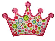 Crown Applique Design Sizes include: hoop hoop This design also comes with a zigzag finish in each size Applique Patterns, Applique Designs, Embroidery Applique, Machine Embroidery Designs, Sewing Patterns, Applique Momma, Monogram Online, Applique Cushions, Hello Kitty Birthday