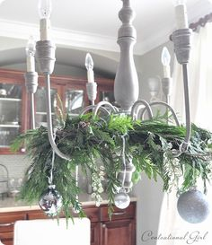 Wanting to do something like this with my chandeliers in dining room and bedroom.