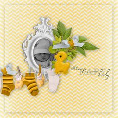Sweet-Chick Scrap and Co my page with New Born by Angel's Design