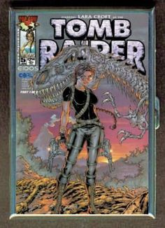 TOMB RAIDER COMIC BOOK #5 ID Holder, Cigarette Case or Wallet: MADE IN USA! - http://www.gamezup.com/tomb-raider-comic-book-5-id-holder-cigarette-case-or-wallet-made-in-usa - http://ecx.images-amazon.com/images/I/51rr9AAXlTL.jpg