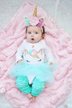 Pastel Unicorn Baby Costume – South of Urban Shop Halloween Bebes, Baby Girl Halloween Costumes, Unicorn Halloween, Baby Costumes, Baby Unicorn Costume, Unicorn Baby Outfit, Unicorn Headband, Unicorn Baby Clothes, Unicorn Birthday