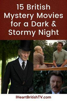 netflix movies 15 British mystery movies for a dark and stormy night - things to stream when you're all alone in a darkened room. These 15 British movies range from scary movies to myst Movies To Watch List, Tv Series To Watch, Movie List, Movie Tv, Tv Watch, Dark & Stormy, Stormy Night, Scary Movies, Good Movies