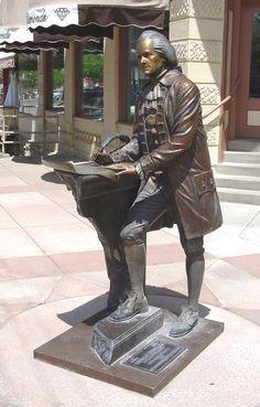 Presidential Walk, Rapid City, South Dakota   Thomas Jefferson  ...this is an amazing statue