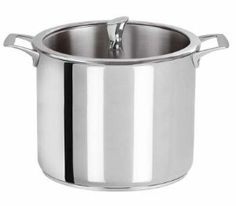 Cristel Casteline Stainless 9.9 qt. Stock Pot w/Glass Lid by Cristel. $299.95. Cristel Casteline stainless steel 9.9 quart stock pot comes with a matching glass lid