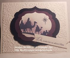 Come to Bethlehem - Stamping in Winchester, VA, with Buffy Cooepr