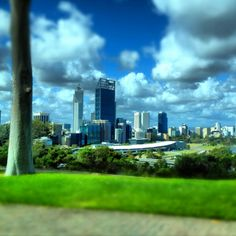 Perth Australia view from Kings park