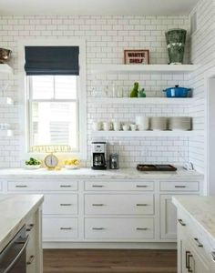 The House of Silver Lining: Small Kitchen Design {Beach Cottage}