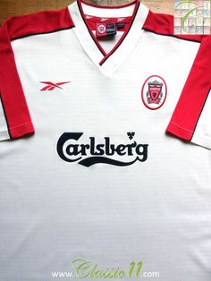 Relive Liverpool 1998/1999 season with this vintage Reebok away football shirt.