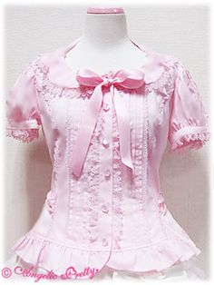 Angelic Pretty Elegant Blouse (in Pink)
